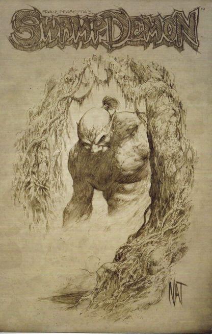 Frank Frazetta's Swamp Demon #0 C Nat Jones Variant