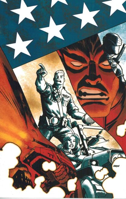 G.I. Joe #1 Dave Johnson Virgin Art Variant