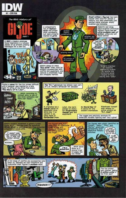G.I. Joe #1 Retailer Incentive A Ryan Dunleavy Variant