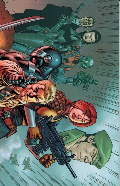 G.I. Joe: Cobra Civil War #1 Javier Saltares Wraparound Variant