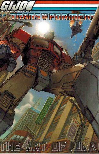 G.I. Joe Vs Transformers: The Art of War #1 Don Figueroa C Variant