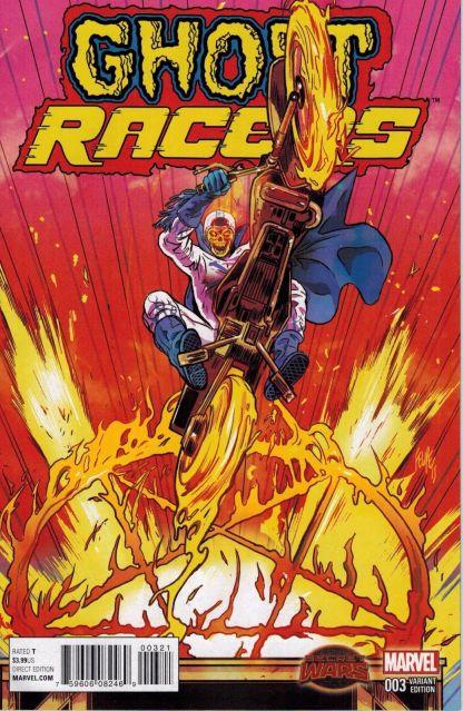 Ghost Racers #3 1:25 Felipe Smith Variant Marvel 2015 Johnny Blaze SWA