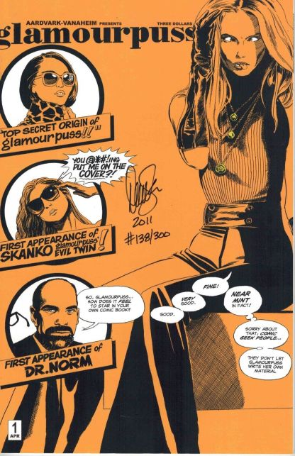 Glamourpuss #1 Signed and Numbered Dave Sim