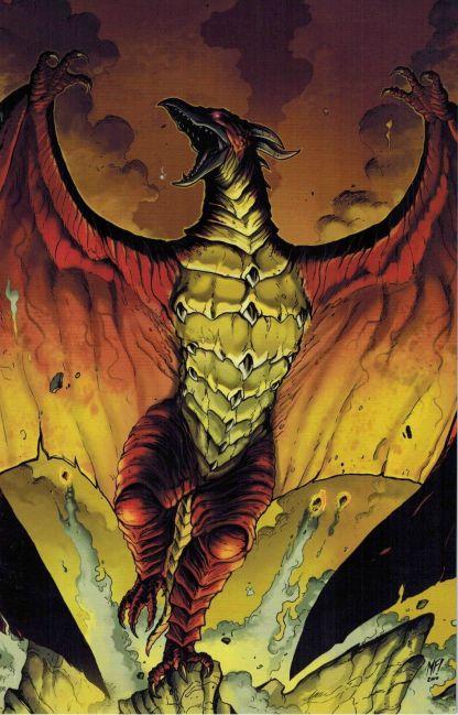 Godzilla: Kingdom of Monsters #2 Matt Frank Virgin Art Incentive Variant