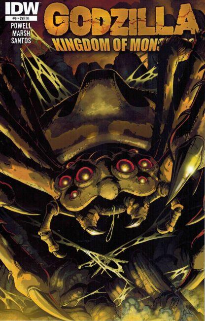 Godzilla: Kingdom of Monsters #6 Matt Frank Retailer Incentive Variant