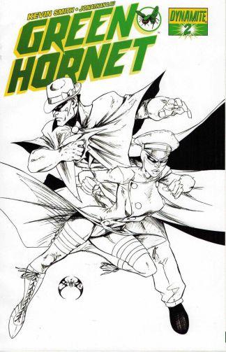 Green Hornet #2 Joe Benitez Black and White Sketch Variant