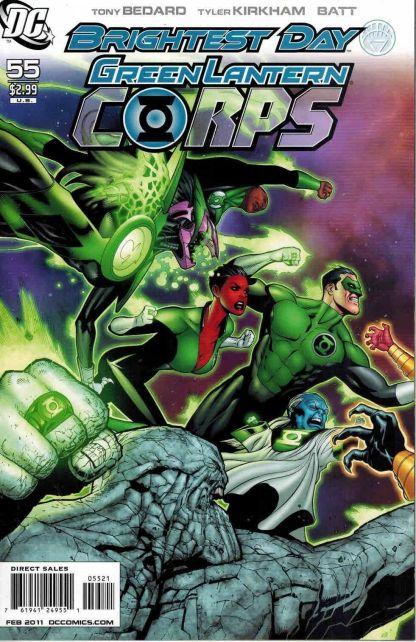 Green Lantern Corps #55 Patrick Gleason Interlocking Corps Variant