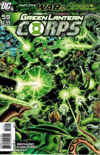 Green Lantern Corps #59 George Perez Variant