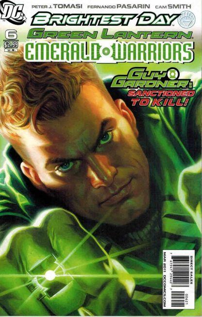 Green Lantern: Emerald Warriors #6 Felipe Massafera Variant