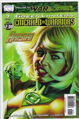 Green Lantern: Emerald Warriors #7 Felipe Massafera Variant