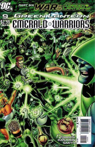 Green Lantern: Emerald Warriors #9 George Perez Variant