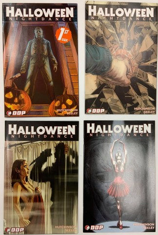 Halloween Nightdance #1-4 SET Cover A Devil's Due 2008 Michael Myers VF/NM