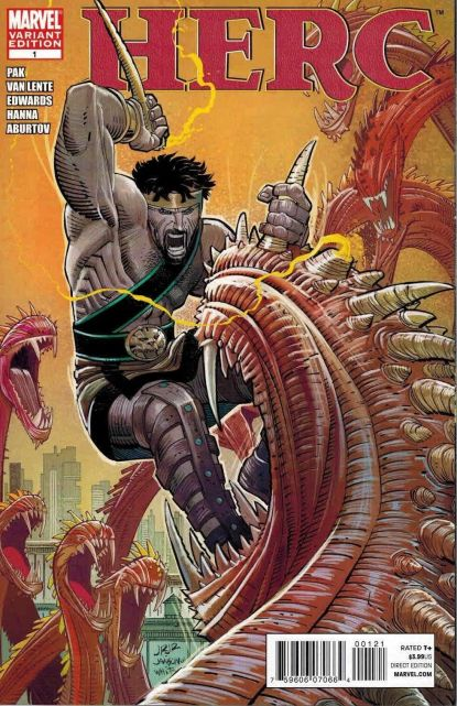 Herc #1 John Romita Jr. Variant Hercules