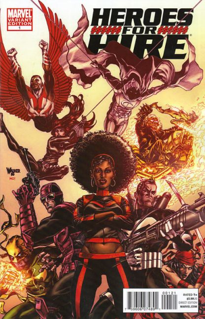 Heroes for Hire (2010) #1 Walker Variant