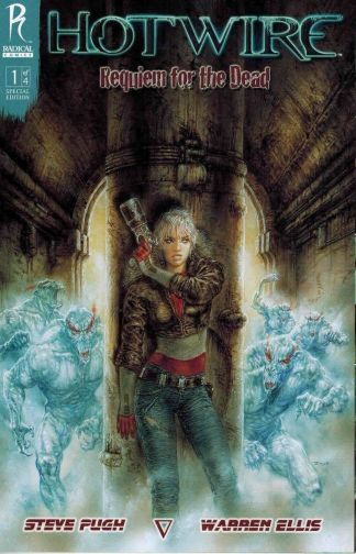 Hotwire: Requiem for the Dead #1 Steve Pugh Warren Ellis