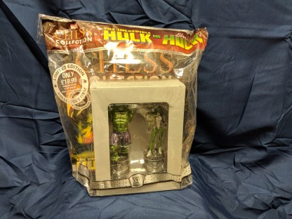 Marvel Eaglemoss Chess Collection + Magazine Special Edition Hulk & She-Hulk