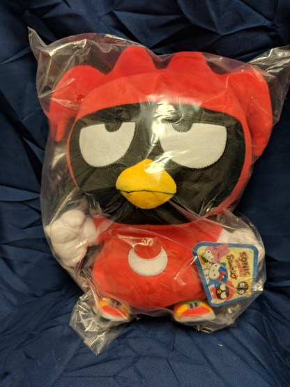 "Sonic the Hedgehog X Sanrio 10"" Plush Knuckles Badtz-Maru Stuffed Plush"
