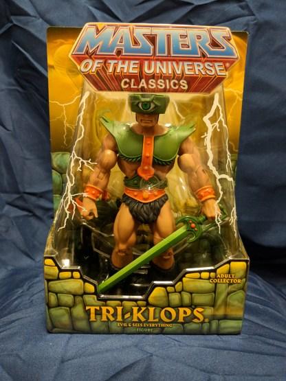 He-Man Masters of the Universe Classics Tri-Klops