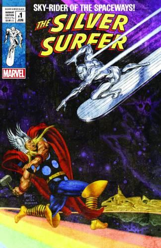 Silver Surfer Black #1 Joe Jusko Exclusive Thor Variant 2019 Limited 2000 Copies