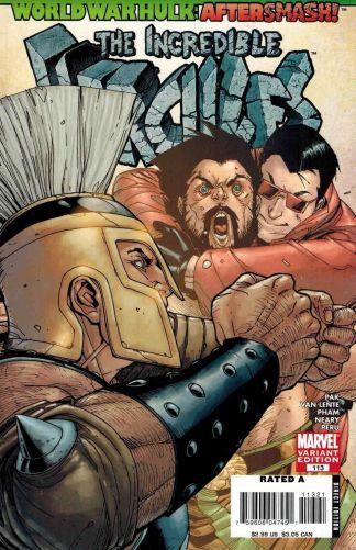 Incredible Hercules #113 Bob Layton Variant