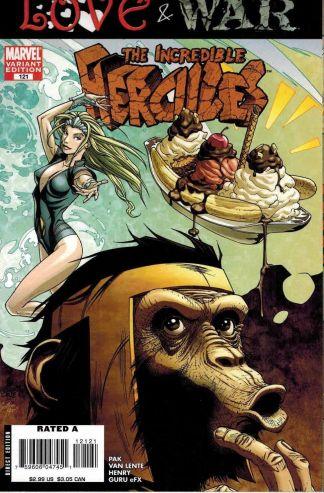 Incredible Hercules #121 Marvel Apes Variant