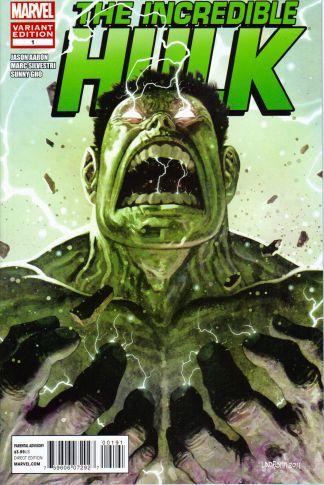 Incredible Hulk #1 1:15 Ladronn Variant Marvel 2011 Jason Aaron