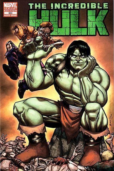 Incredible Hulk #603 Zombie Variant