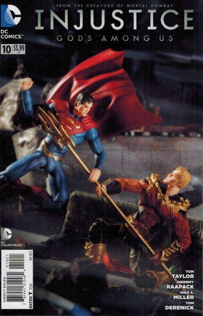 Injustice: Gods Among Us #10 Action Figure Variant