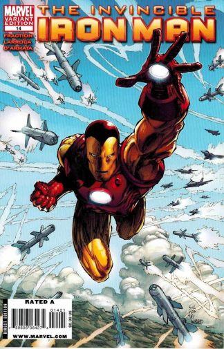 Invincible Iron Man #14 1:15 Marc Silvestri Variant Marvel 2008
