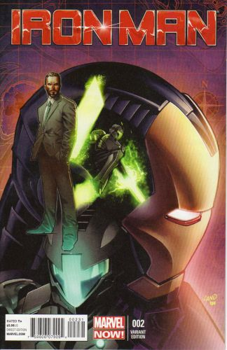 Iron Man (2012) #2 Greg Land Variant Marvel Now!