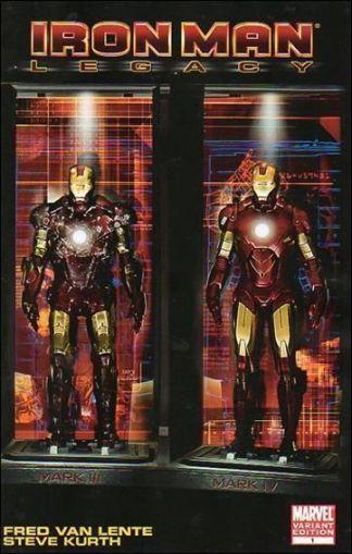 Iron Man: Legacy #1 Movie Wrap Variant
