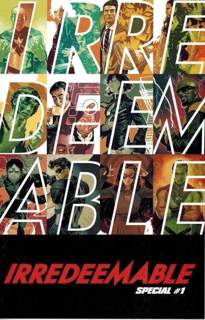 Irredeemable Special #1 Jeffrey Spokes Interlocking Variant