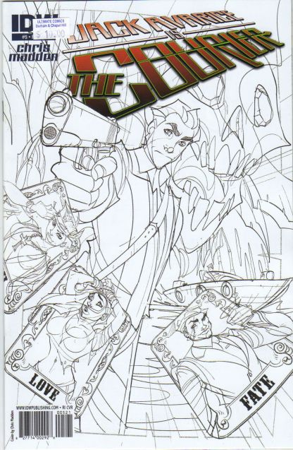 Jack Avarice is the Courier #5 Sketch Variant