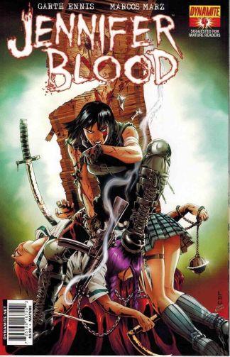 Jennifer Blood #4 Jonathan Lau Variant