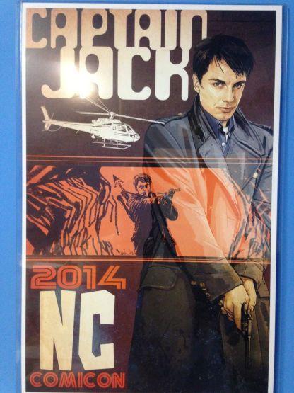 "John Barrowman ""Captain Jack Harkness"" NC Comicon Exclusive Print 11x17"