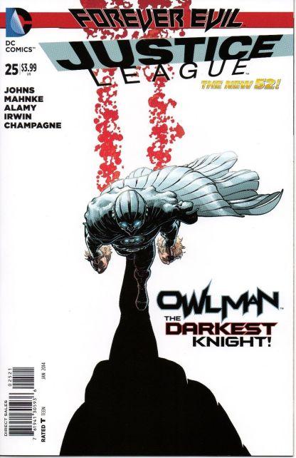 Justice League #25 1:25 Aaron Kuder Owlman Variant Forever Evil