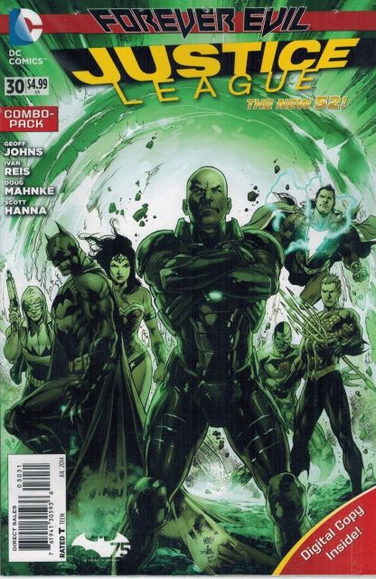 Justice League #30 Combo Pack Geoff Johns David Finch