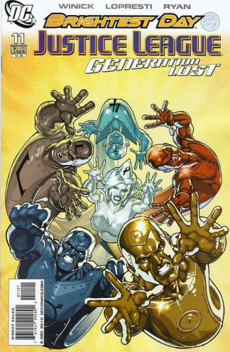 Justice League: Generation Lost #11 Kevin Maguire Variant