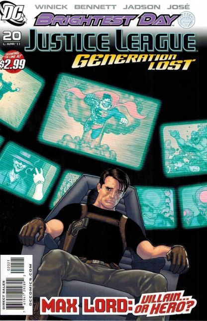 Justice League: Generation Lost #20 Kevin Maguire Variant