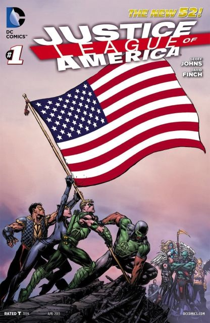Justice League of America #1 Complete All 53 States Flag Variant Set DC New 52