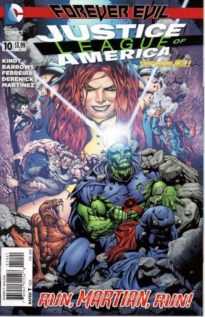 Justice League of America #10 1:25 Dale Eaglesham Variant