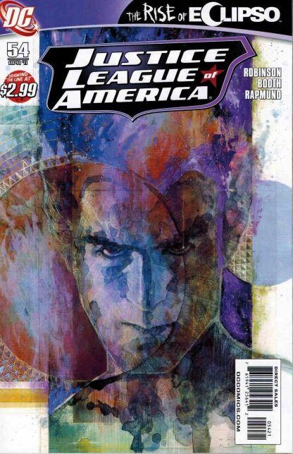 Justice League of America #54 David Mack Variant