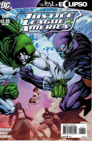 Justice League of America #57 Ed Benes Variant