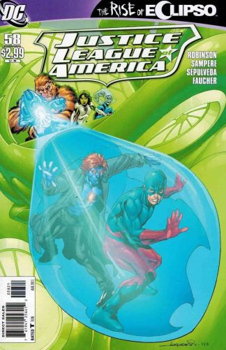 Justice League of America #58 Aaron Lopresti Variant