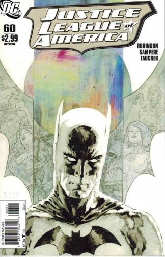 Justice League of America #60 David Mack Batmant Variant