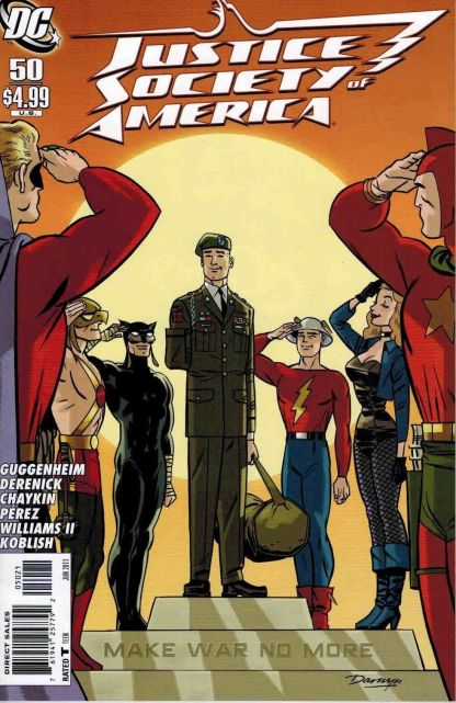 Justice Society of America #50 Darwyn Cooke Variant