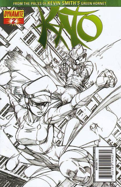 Kato #2 Ale Garza Sketch Variant