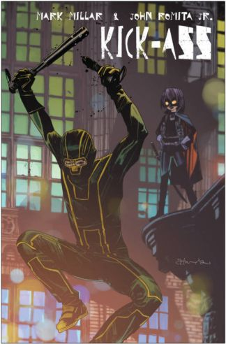 Kick-Ass 2 #1 Tommy Lee Edwards Ultimate Comics Exclusive Variant Marvel 2010