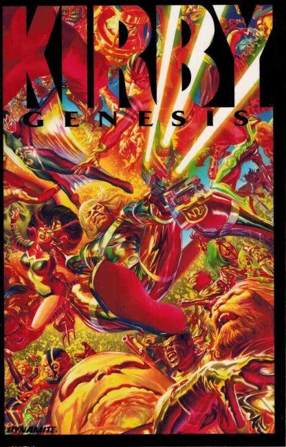 Kirby: Genesis #1 Alex Ross Acetate Overlay Variant