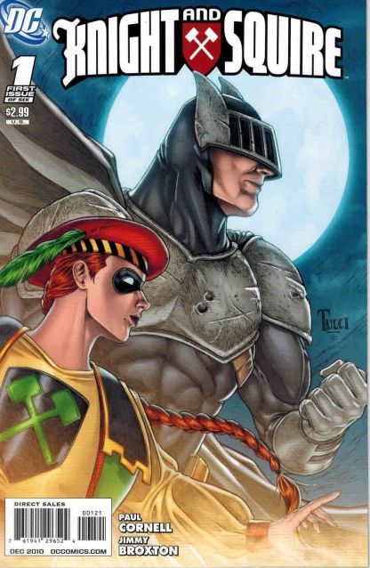 Knight and Squire #1 C Billy Tucci Variant